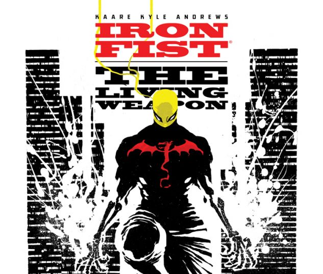 IRON FIST: THE LIVING WEAPON 4 (ANMN, WITH DIGITAL CODE)