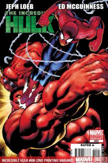 Incredible Hulks (2009) #600 (2ND PRINTING VARIANT)