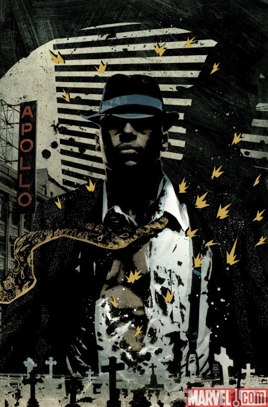 LUKE CAGE NOIR #1 cover by Shawn Martinbrough
