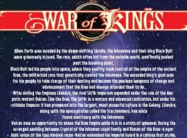 WAR OF KINGS #2 preview page 1