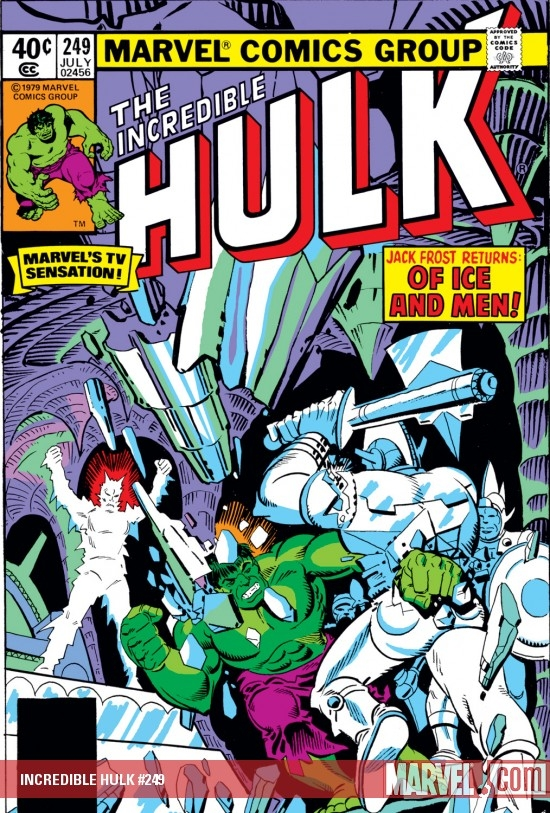 INCREDIBLE HULK #249 COVER
