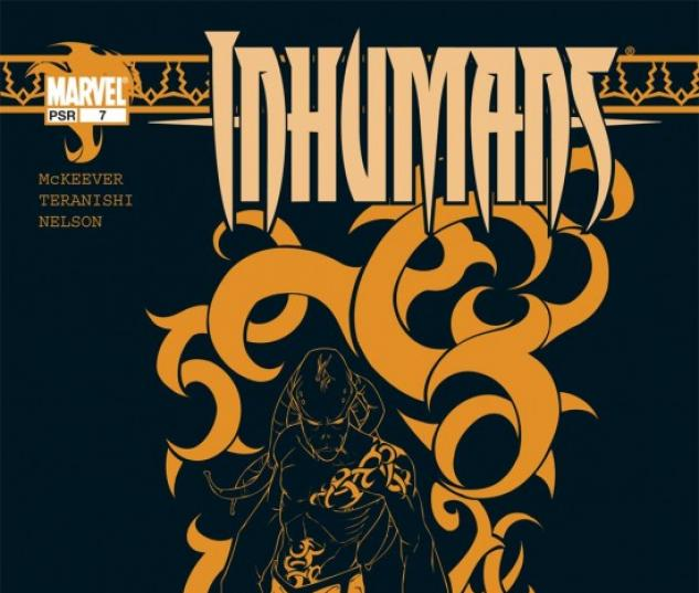 INHUMANS (2004) #7 COVER