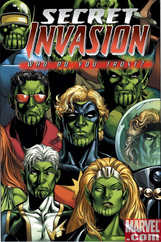 SECRET INVASION: WHO DO YOU TRUST #1 cover