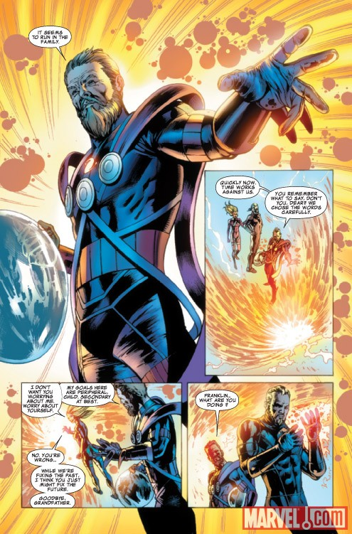FANTASTIC FOUR #581 preview art by Neil Edwards