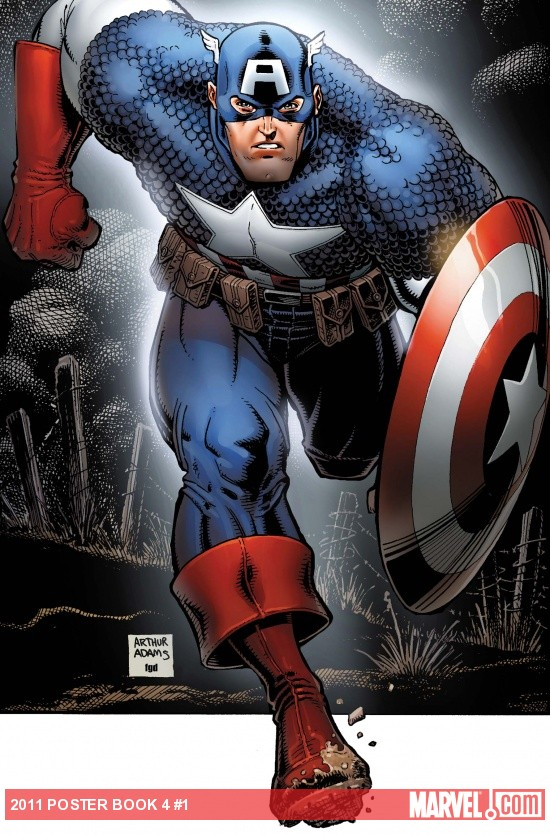 Captain America Poster Book