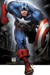 Captain America Poster Book #1