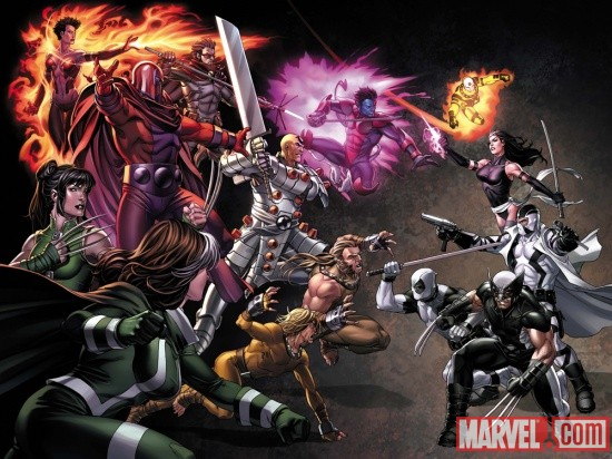 Uncanny X-Force #11 cover by Mark Brooks