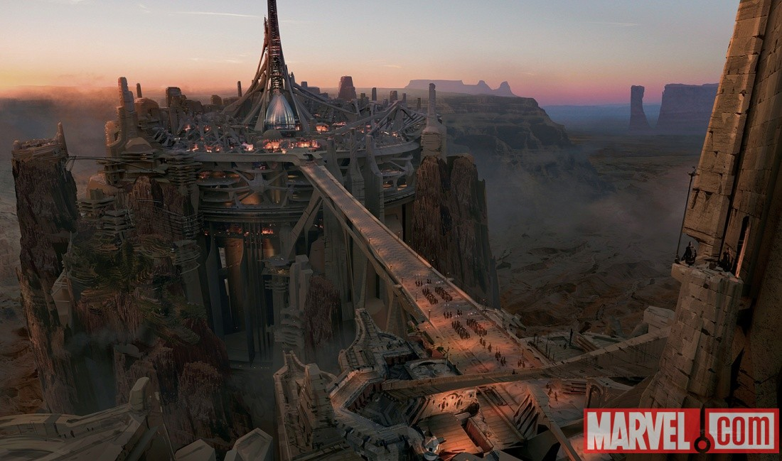 John Carter movie concept art