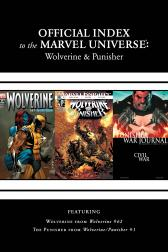 Wolverine, Punisher &amp; Ghost Rider: Official Index to the Marvel Universe Marvel Universe #7 