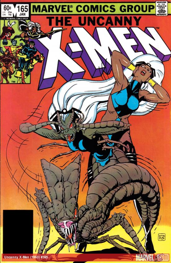 Uncanny X-Men (1963) #165 Cover