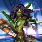 Gamora card art by Greg Horn from Marvel War of Heroes