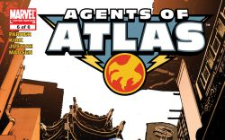 Agents of Atlas (2006) #6 Cover