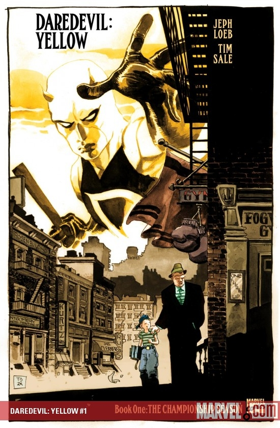 DAREDEVIL: YELLOW (2008) #1 COVER