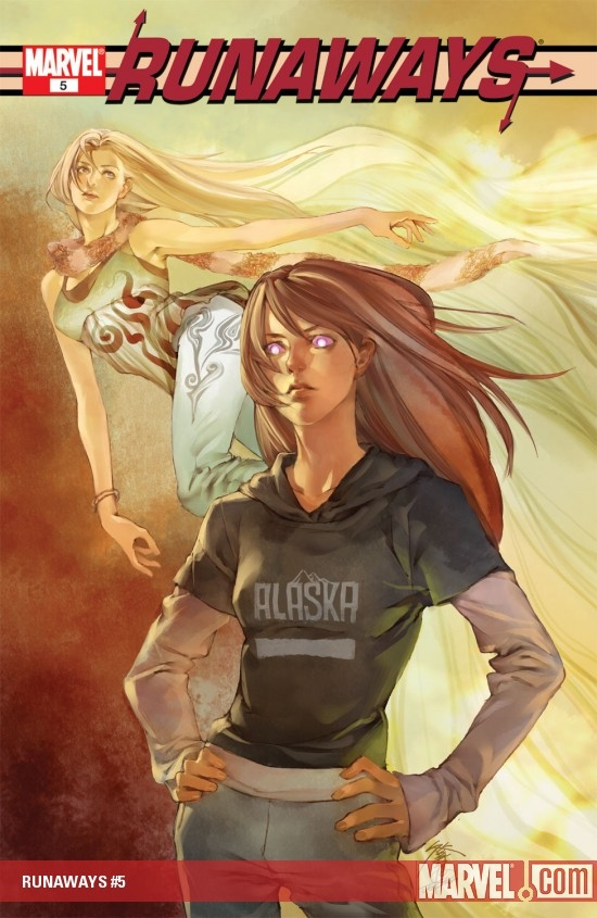 RUNAWAYS (2002) #5 COVER