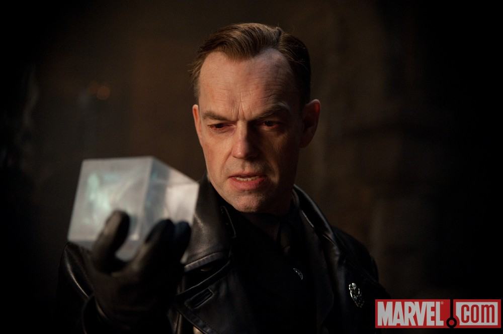 Hugo Weaving stars as Johann Schmidt/The Red Skull in Captain America: The First Avenger