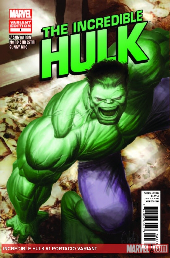 INCREDIBLE HULK 1 PORTACIO VARIANT