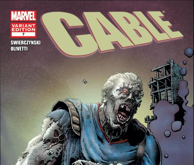 Cable (2008) #7, Zombie Variant