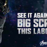 See Marvel's The Avengers again this Labor Day weekend