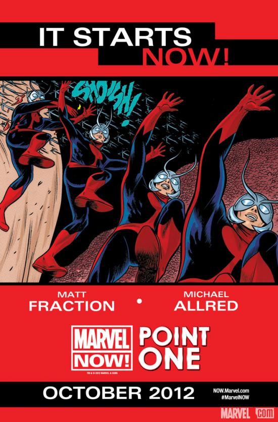 Marvel NOW! Point One teaser by Michael Allred