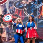 NYCC 2012: Cosplayers on the Marvel Stage for the Costoberfest Photo Op