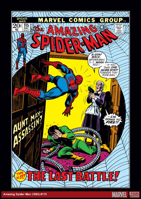 Amazing Spider-Man (1963) #115 Cover