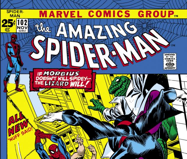 Amazing Spider-Man (1963) #102 Cover