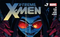 X-Treme X-Men (2012) #7 Cover