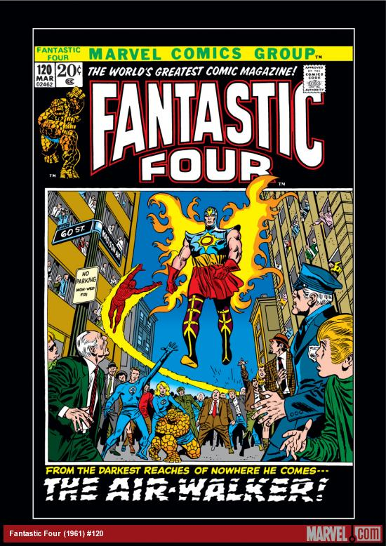 Fantastic Four (1961) #120 Cover