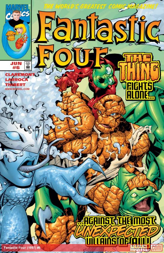 Fantastic Four (1997) #6 Cover