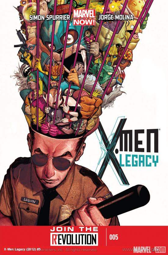 X-Men Legacy (2012) #5 Cover