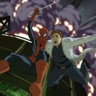 Spider-Man &amp; Dr. Curt Connors in the season premiere of Ultimate Spider-Man