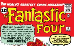 Fantastic Four (1961) #6 Cover