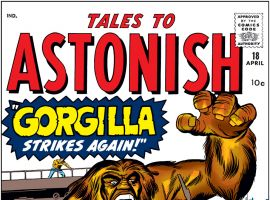 Tales to Astonish (1959) #18 Cover