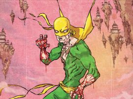 Iron Fist: The Living Weapon #7 preview art by Kaare Andrews