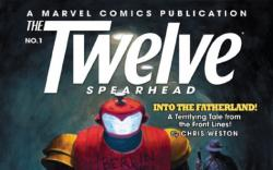 The Twelve: Spearhead #1 Cover by Paolo Rivera