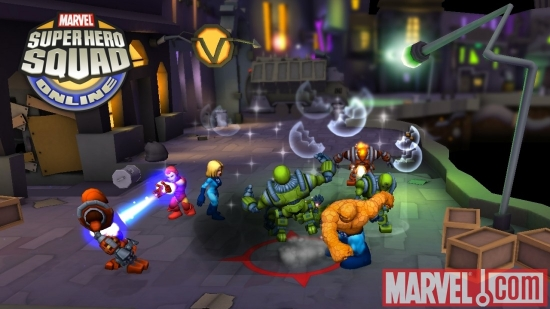 Super Hero Squad Online screenshot