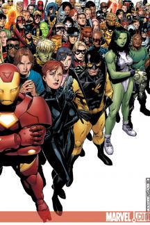 Avengers: The Initiative (2007) #1 (50/50 Cover (right))