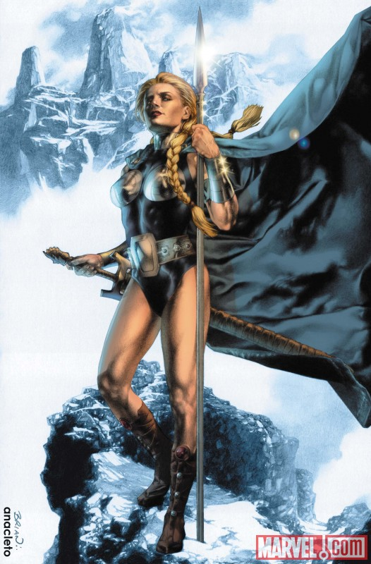 VALKYRIE #1 cover by Jay Anacleto