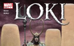 Loki (2004) #1 cover by Esad Ribic