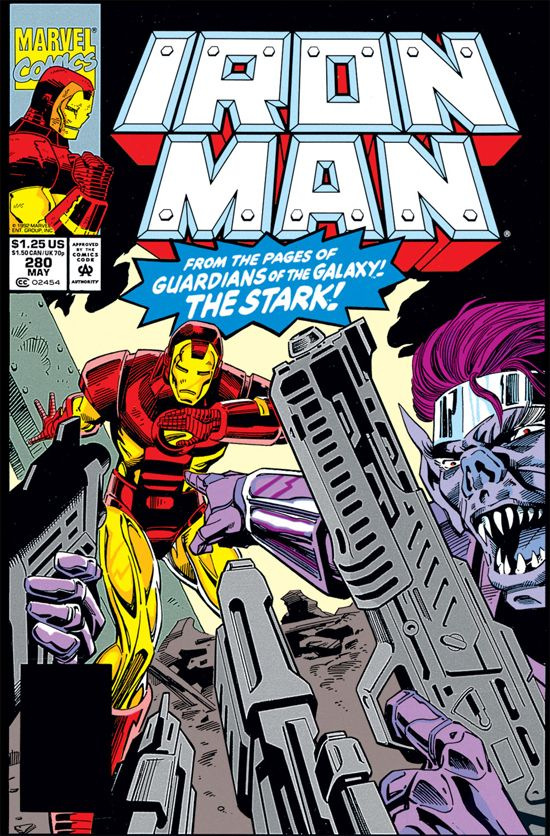 iron man four series comic book cover