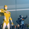 The Guardsmen wave to their public in Iron Man: Armored Adventures