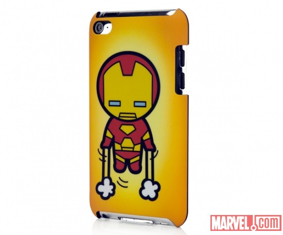 iPod touch 4 Marvel Kawaii Line - Iron Man