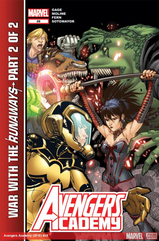 Avengers Academy (2010) #28