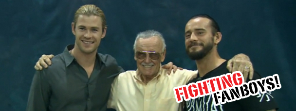 Fightin' Fanboys: CM Punk Meets Stan Lee & Thor