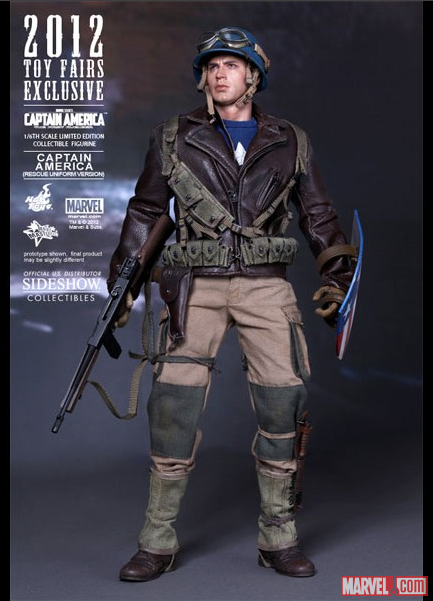 Sideshow Captain America - Rescue Figure