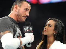 AJ Lee and CM Punk (photo courtesy of WWE)