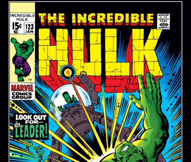 Incredible Hulk (1962) #123 Cover