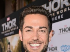 Zachary Levi (Fandral) at the red carpet premiere of Marvel's Thor: The Dark World in Los Angeles