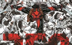 Deadpool #250 cover by Dave Johnson