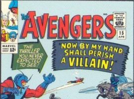 Image Featuring Wasp, Enchantress (Amora), Masters of Evil, Hank Pym, Avengers, Baron Zemo (Heinrich Zemo), Black Knight (Sir Percy of Scandia), Captain America, Iron Man